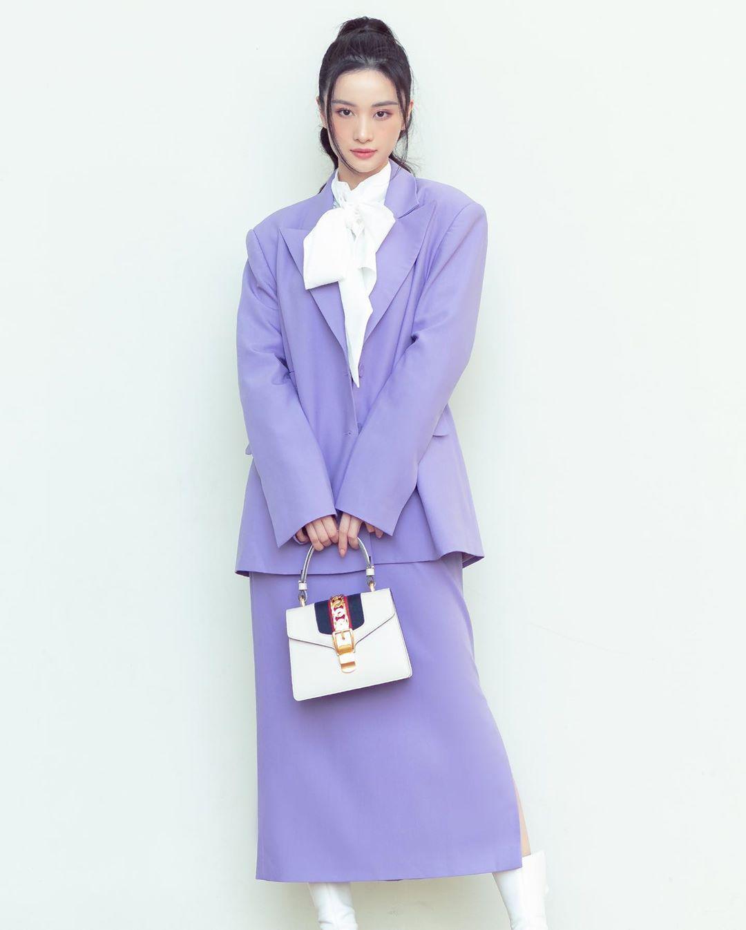 Sao Việt khi diện suit tím hot trend: Người đẹp tinh tế, người sến sẩm; nàng công sở xem cũng rút được khối kinh nghiệm - Ảnh 8.