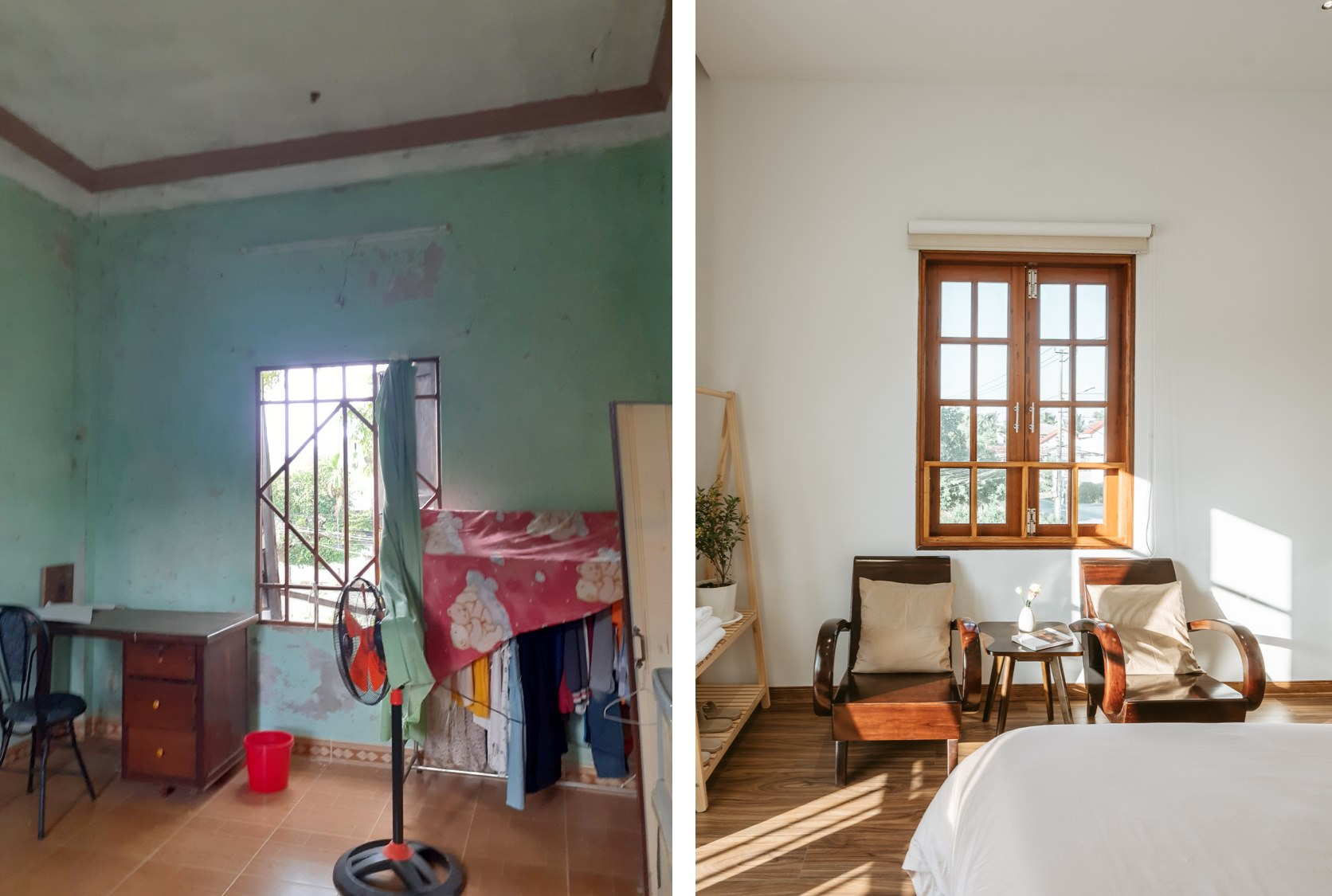Cô gái quyết định rời Sài Gòn về Hội An cải tạo nhà ở 20 năm đã xuống cấp thành homestay 5 phòng đẹp lung linh, cho khách thuê chỉ 420-520 ngàn đồng/ phòng - Ảnh 11.