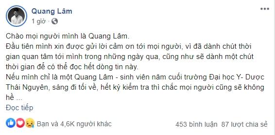 """""""Người ấy là ai?"""": Bác sĩ trẻ Quang Lâm lên tiếng khi bị bạn chotố đã có người yêu vẫn tham gia show hẹn hò để cặp kè với """"nữ thần thời tiết"""" - Ảnh 3."""