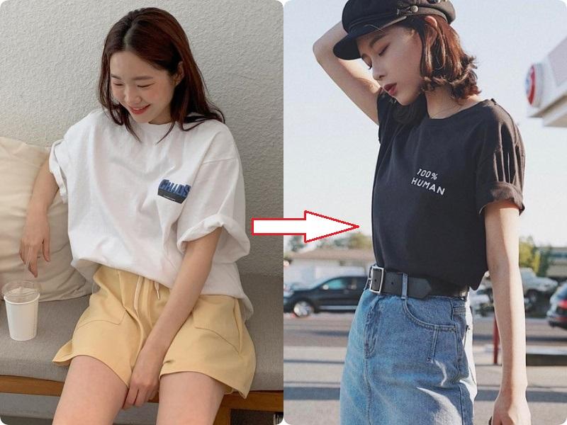 Các nàng hãy chọn áo phông theo 4 tips này, đảm bảo luôn đẹp và quan trọng là nhìn người gầy đi vài ký  - Ảnh 8.