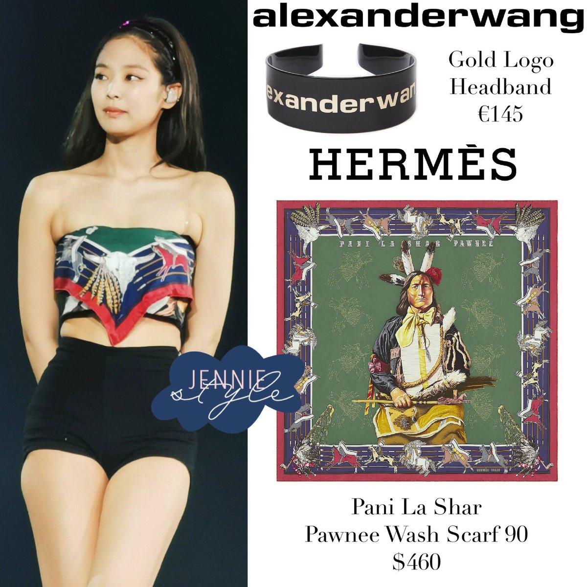 """Copy Jennie (Black Pink), Bảo Thy lấy hẳn khăn Hermés làm áo khoe eo thon nhưng vẫn hơi """"rén"""" ở một chi tiết - Ảnh 5."""