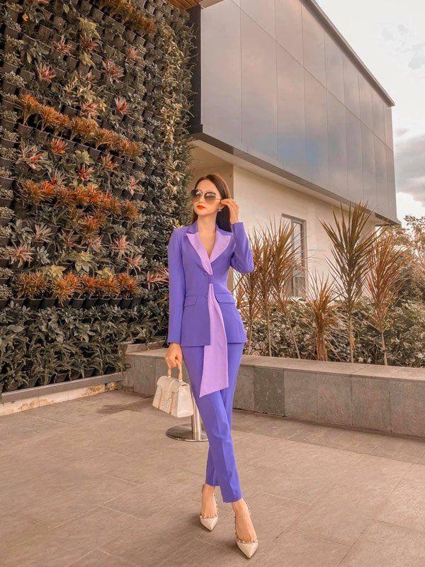 Sao Việt khi diện suit tím hot trend: Người đẹp tinh tế, người sến sẩm; nàng công sở xem cũng rút được khối kinh nghiệm - Ảnh 6.