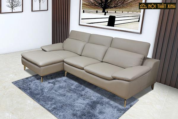 10 mẫu ghế sofa chữ L nhập khẩu mê hoặc lòng người - Ảnh 1.