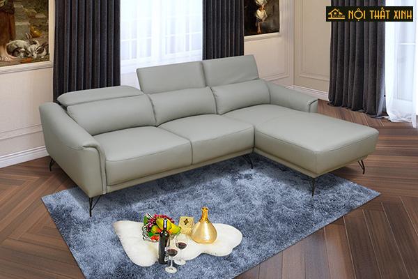 10 mẫu ghế sofa chữ L nhập khẩu mê hoặc lòng người - Ảnh 2.