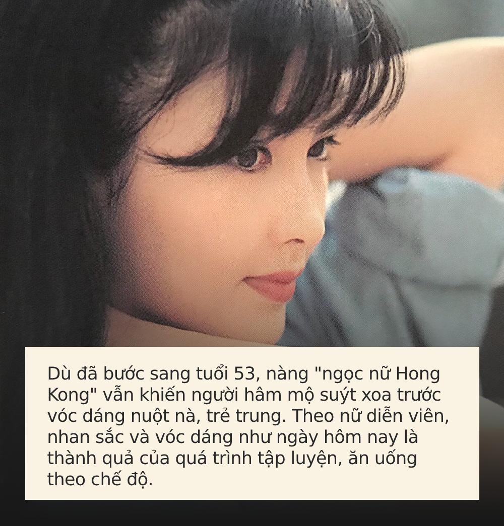 """Đã U55 nhưng nàng """"ngọc nữ Hong Kong"""" Châu Huệ Mẫn vẫn nuột nà, trẻ trung hơn hẳn phụ nữ cùng tuổi: Nhìn cách ăn của cô ấy, bạn sẽ hiểu sự khác biệt! - Ảnh 3."""