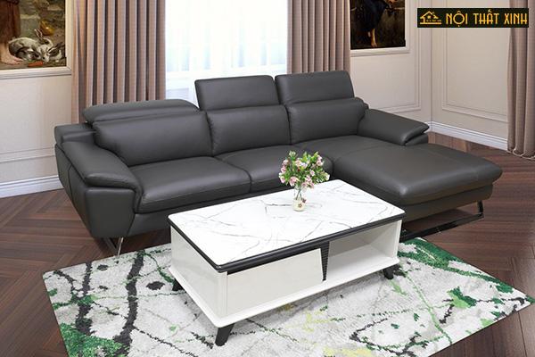 10 mẫu ghế sofa chữ L nhập khẩu mê hoặc lòng người - Ảnh 3.