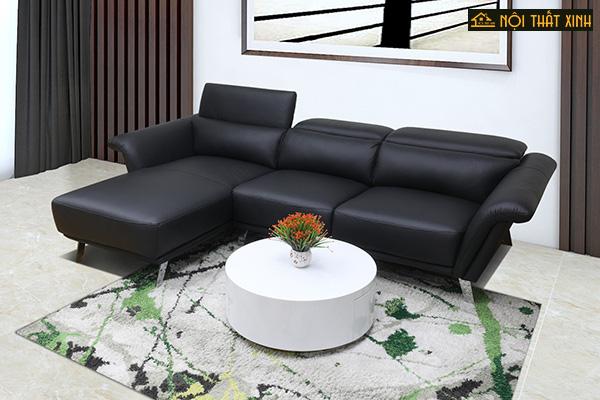 10 mẫu ghế sofa chữ L nhập khẩu mê hoặc lòng người - Ảnh 5.