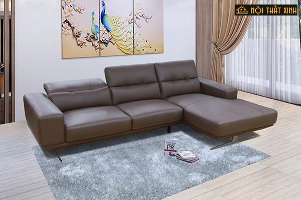 10 mẫu ghế sofa chữ L nhập khẩu mê hoặc lòng người - Ảnh 6.