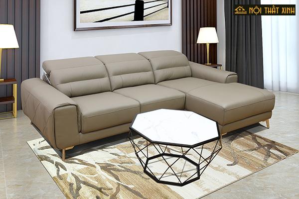 10 mẫu ghế sofa chữ L nhập khẩu mê hoặc lòng người - Ảnh 7.