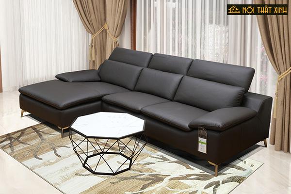10 mẫu ghế sofa chữ L nhập khẩu mê hoặc lòng người - Ảnh 8.