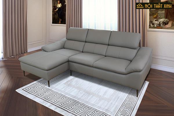 10 mẫu ghế sofa chữ L nhập khẩu mê hoặc lòng người - Ảnh 9.