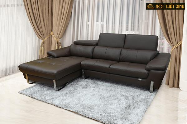 10 mẫu ghế sofa chữ L nhập khẩu mê hoặc lòng người - Ảnh 10.