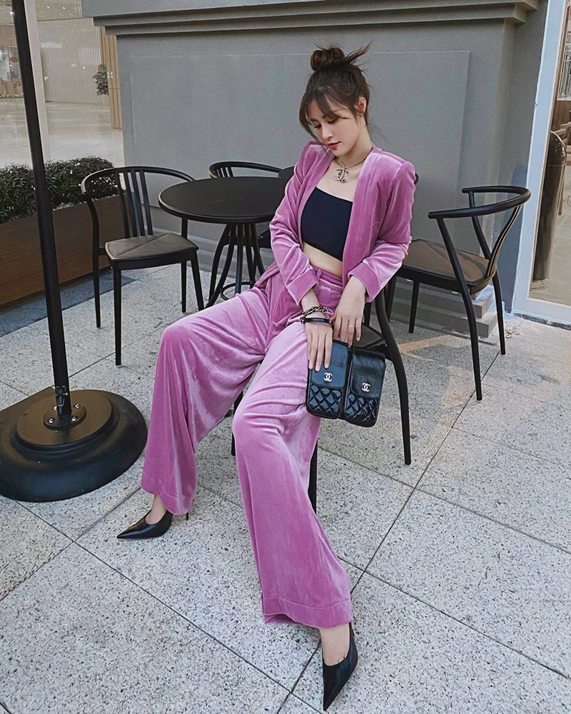 Sao Việt khi diện suit tím hot trend: Người đẹp tinh tế, người sến sẩm; nàng công sở xem cũng rút được khối kinh nghiệm - Ảnh 5.