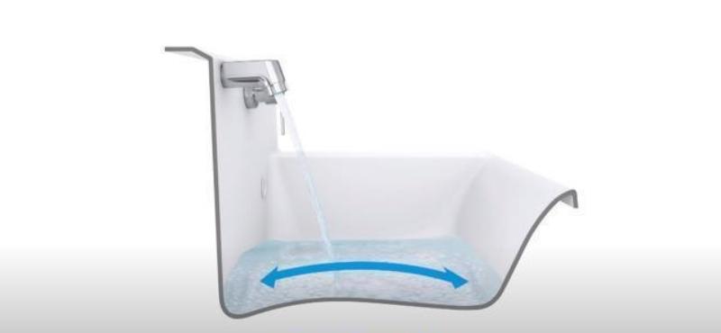 Bồn rửa mặt ở Nhật không có dạng lõm mà... lồi, tưởng bất tiện ai ngờ có cả tá lợi ích - Ảnh 1.