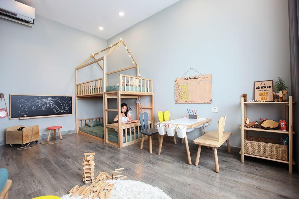 Mê mẩn với phòng Kids mẹ trẻ Hà Nội tự tay thiết kế cho con gái trong vòng chưa đầy 20 ngày với chi phí 50 triệu - Ảnh 4.