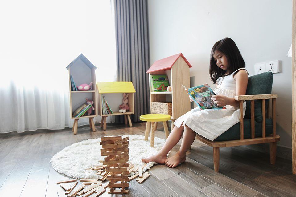 Mê mẩn với phòng Kids mẹ trẻ Hà Nội tự tay thiết kế cho con gái trong vòng chưa đầy 20 ngày với chi phí 50 triệu - Ảnh 8.
