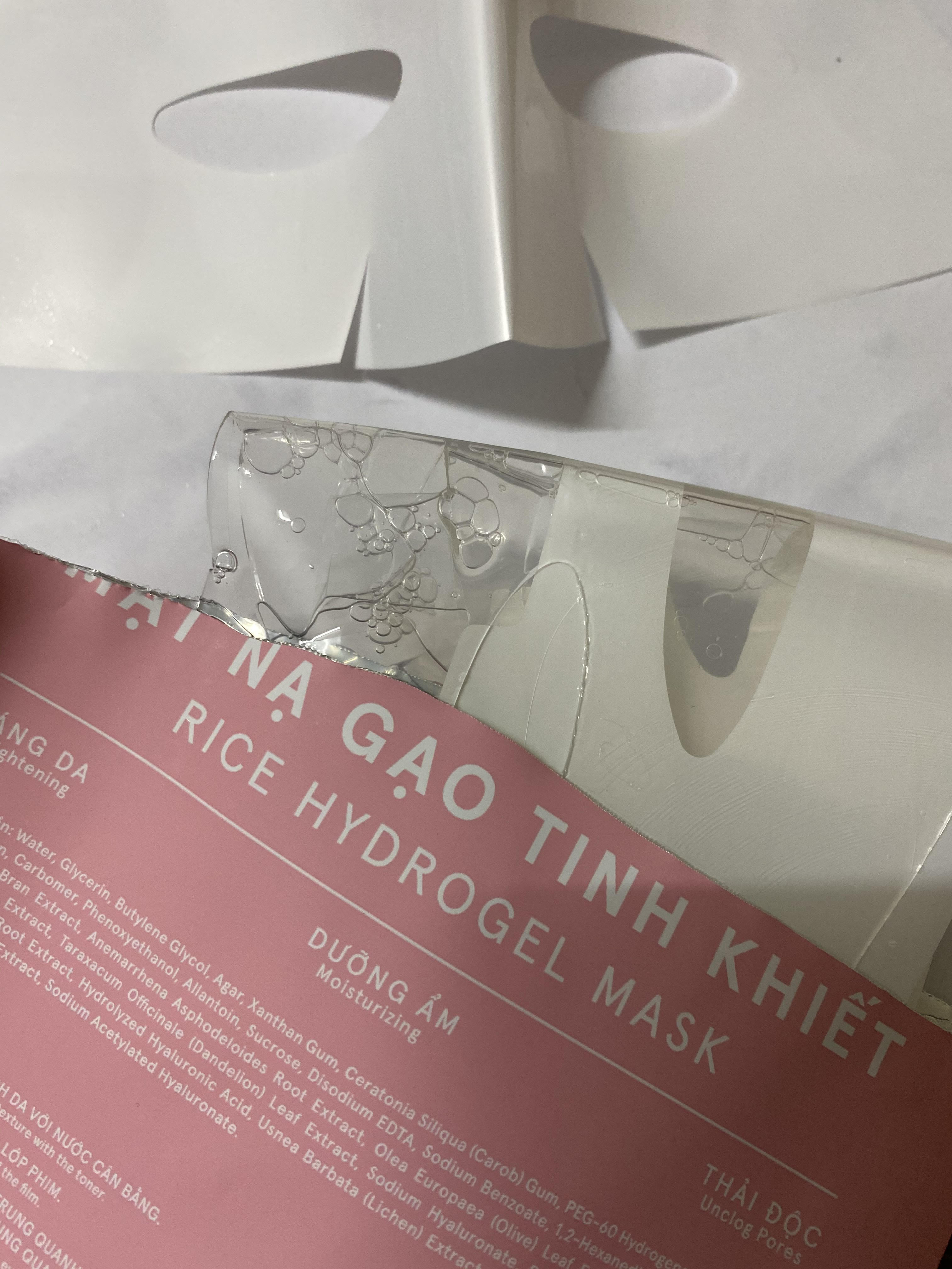 Review mặt nạ gạo của Hà Hồ: Giá 199k/ 3 miếng liệu có nên mua lại? - Ảnh 3.