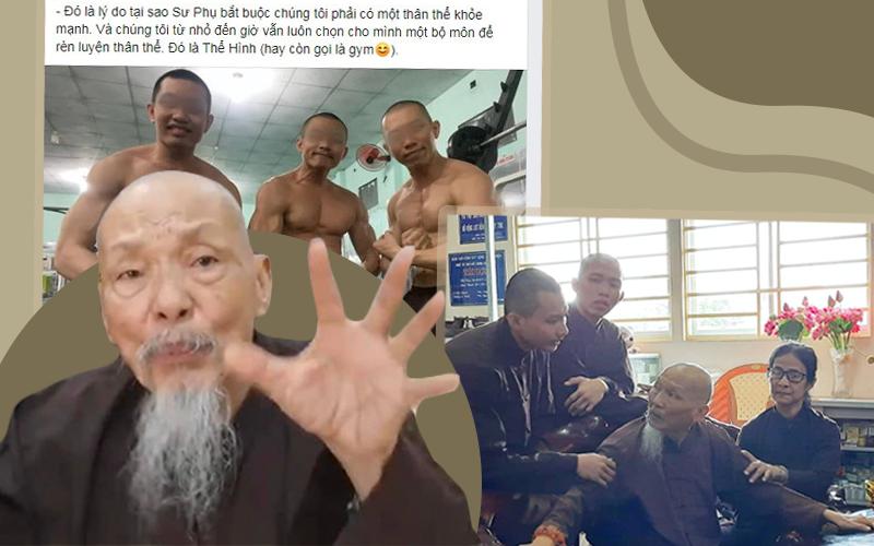 """Tịnh Thất Bồng Lai: Từ hiện tượng trên sóng truyền hình đến """"sư thầy"""" khoe body 6 múi ở resort hạng sang dù đang bị điều tra"""