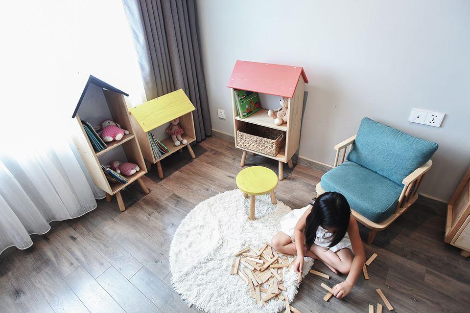 Mê mẩn với phòng Kids mẹ trẻ Hà Nội tự tay thiết kế cho con gái trong vòng chưa đầy 20 ngày với chi phí 50 triệu - Ảnh 11.