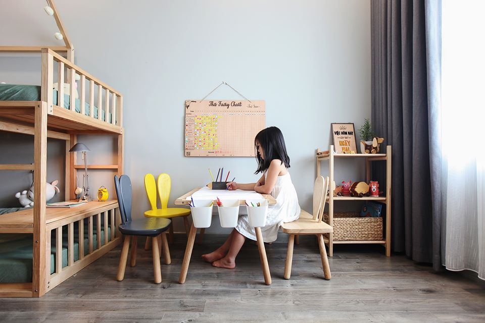Mê mẩn với phòng Kids mẹ trẻ Hà Nội tự tay thiết kế cho con gái trong vòng chưa đầy 20 ngày với chi phí 50 triệu - Ảnh 6.