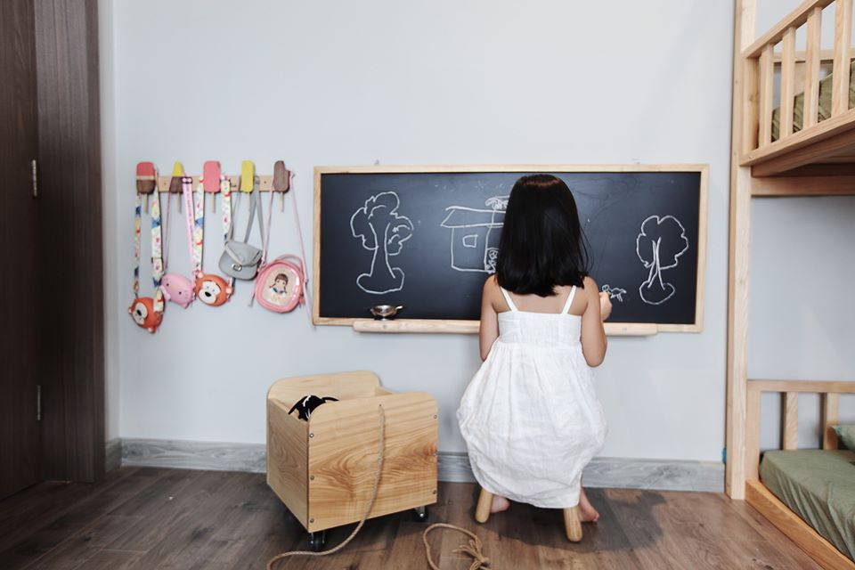 Mê mẩn với phòng Kids mẹ trẻ Hà Nội tự tay thiết kế cho con gái trong vòng chưa đầy 20 ngày với chi phí 50 triệu - Ảnh 9.
