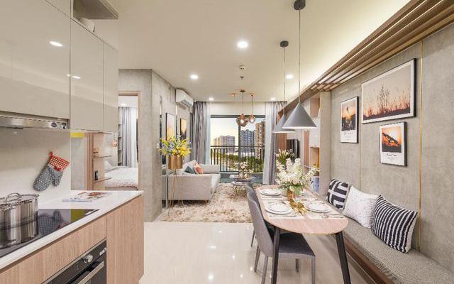 Tư vấn thiết kế cải tạo căn hộ chung cư diện tích 55m² với tổng chi phí 116 triệu đồng