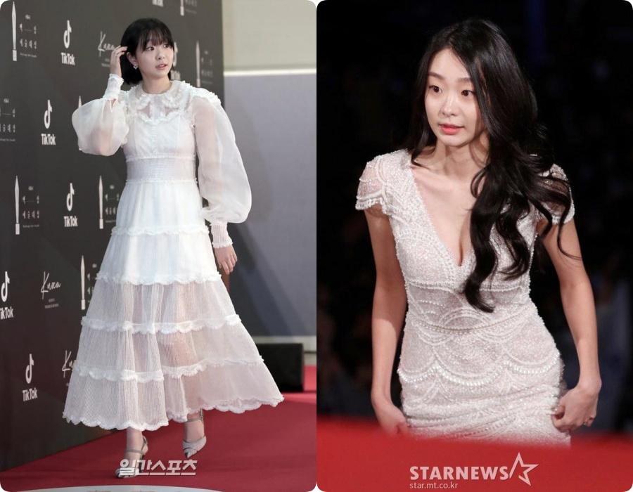 """Nữ chính Itaewon Class khiến dân tình hơi """"tụt mood"""" khi diện đầm bánh bèo toàn tập tại thảm đỏ Beasang 2020 - Ảnh 6."""