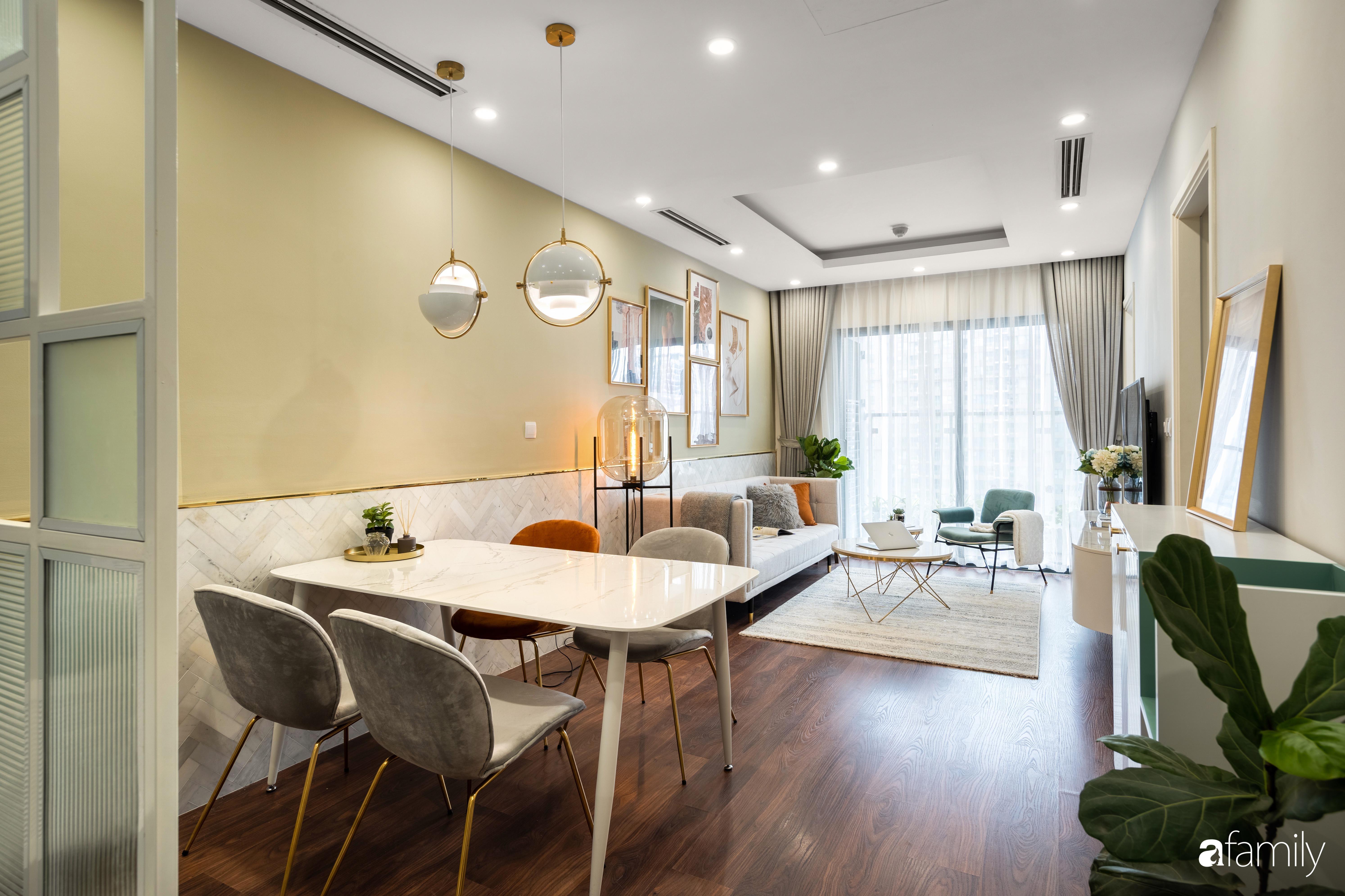 Căn hộ 63m² ngập tràn màu nắng với chi phí hoàn thiện 240 triệu đồng ở Thanh Xuân, Hà Nội - Ảnh 9.