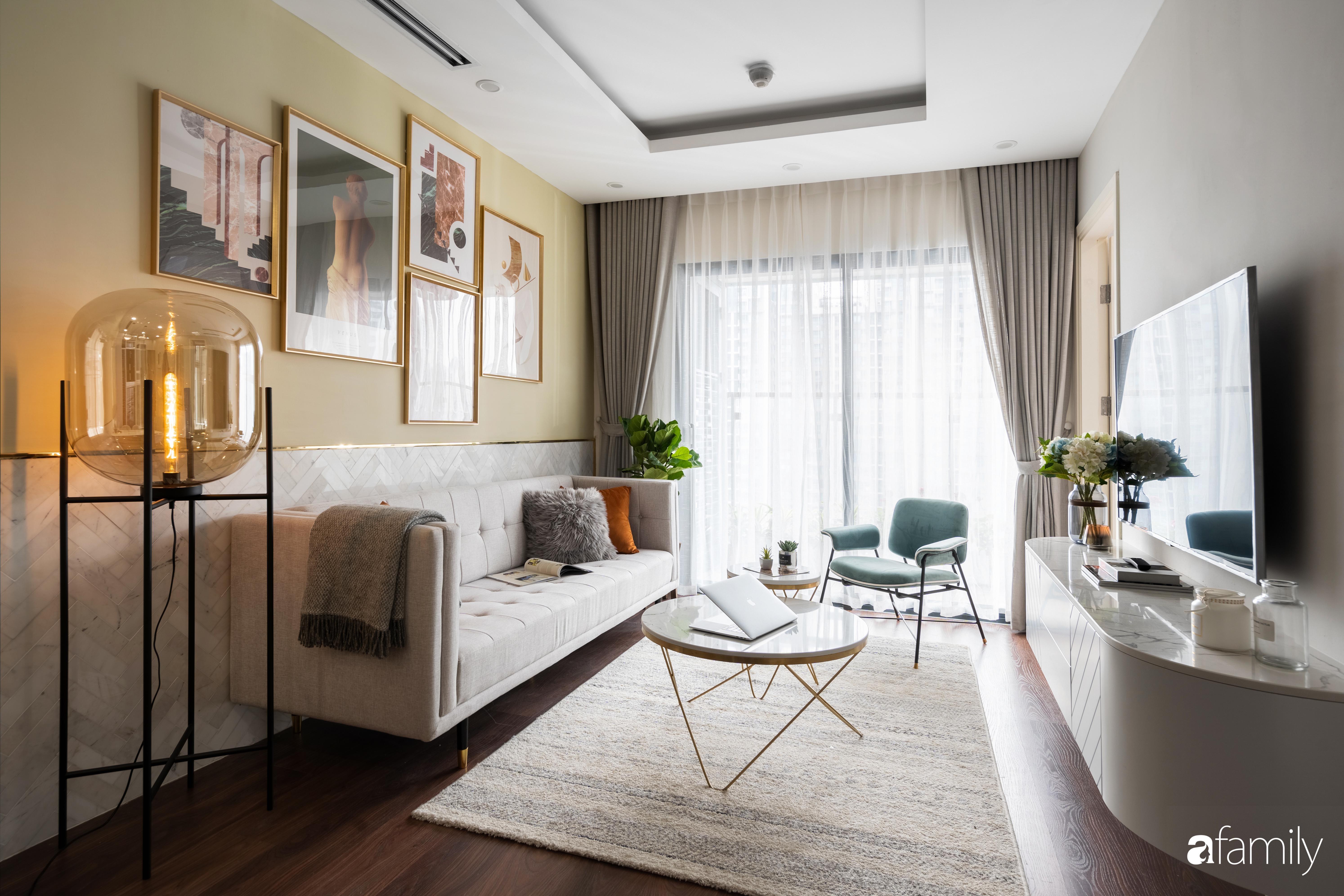 Căn hộ 63m² ngập tràn màu nắng với chi phí hoàn thiện 240 triệu đồng ở Thanh Xuân, Hà Nội - Ảnh 5.