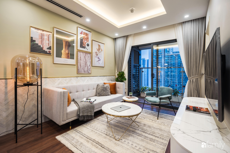 Căn hộ 63m² ngập tràn màu nắng với chi phí hoàn thiện 240 triệu đồng ở Thanh Xuân, Hà Nội - Ảnh 2.