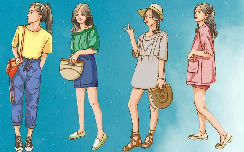 Chọn phong cách ưa thích trong mùa hè để biết bạn có phải là người giỏi thích ứng không