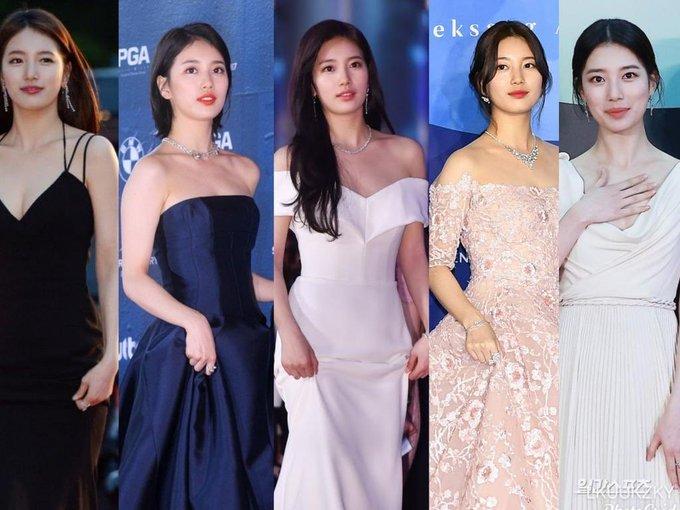 """Dù Son Ye Jin rất đẹp nhưng cô vẫn bị Suzy """"vượt mặt"""" bởi một chi tiết trang phục khi tham dự Baeksang 2020 - Ảnh 7."""