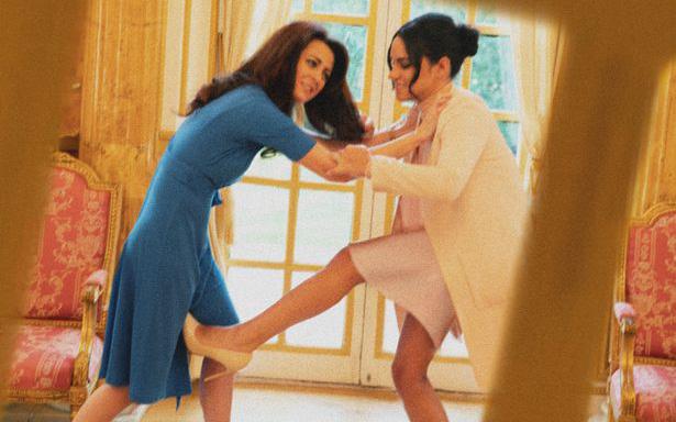 Cú sốc của Công nương Kate: Bị em dâu Meghan trả thù và bạn học phản bội chỉ trong một bài báo