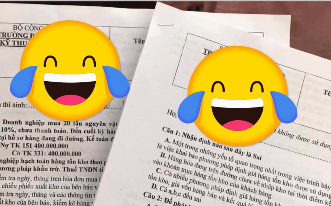 """Khi cô giáo cũng chơi Facebook thì việc sáng tạo mã đề tuy nhìn """"cưng muốn xỉu"""" mà nước mắt học trò cứ lã chã rơi"""