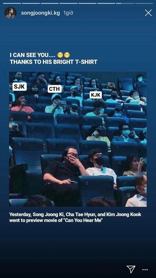 Song Joong Ki lộ ảnh hẹn hò đi xem phim cùng người đặc biệt thân thiết - Ảnh 2.