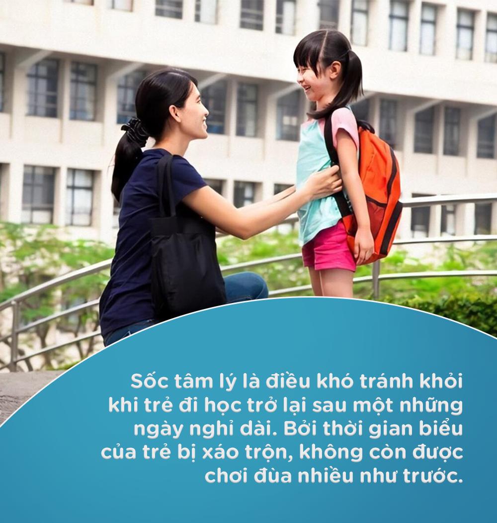 Những điều cần làm để giúp trẻ nhanh thích nghi với việc đi học trở lại bình thường, không còn được ở cạnh mẹ cả ngày như trước - Ảnh 1.