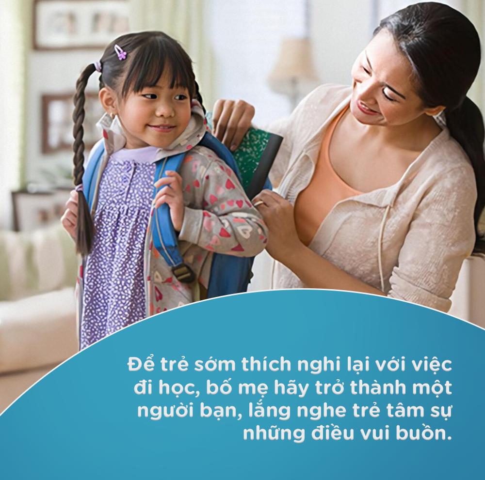 Những điều cần làm để giúp trẻ nhanh thích nghi với việc đi học trở lại bình thường, không còn được ở cạnh mẹ cả ngày như trước - Ảnh 3.