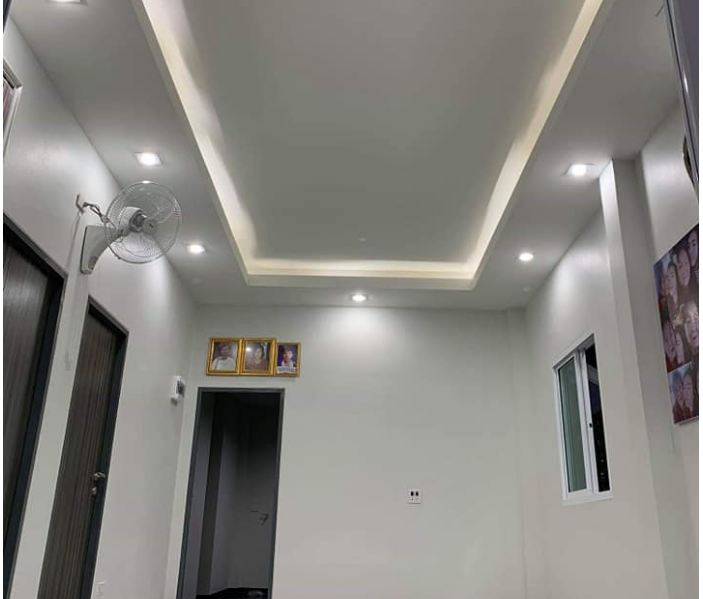 Nhà cấp 4 ở nông thôn được thiết kế theo phong cách hiện đại với 2 phòng ngủ, 2 phòng tắm - Ảnh 8.