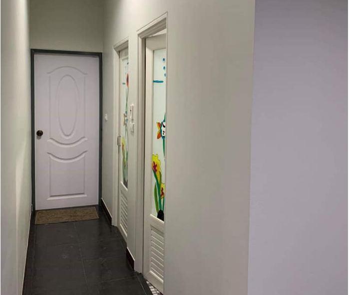 Nhà cấp 4 ở nông thôn được thiết kế theo phong cách hiện đại với 2 phòng ngủ, 2 phòng tắm - Ảnh 9.