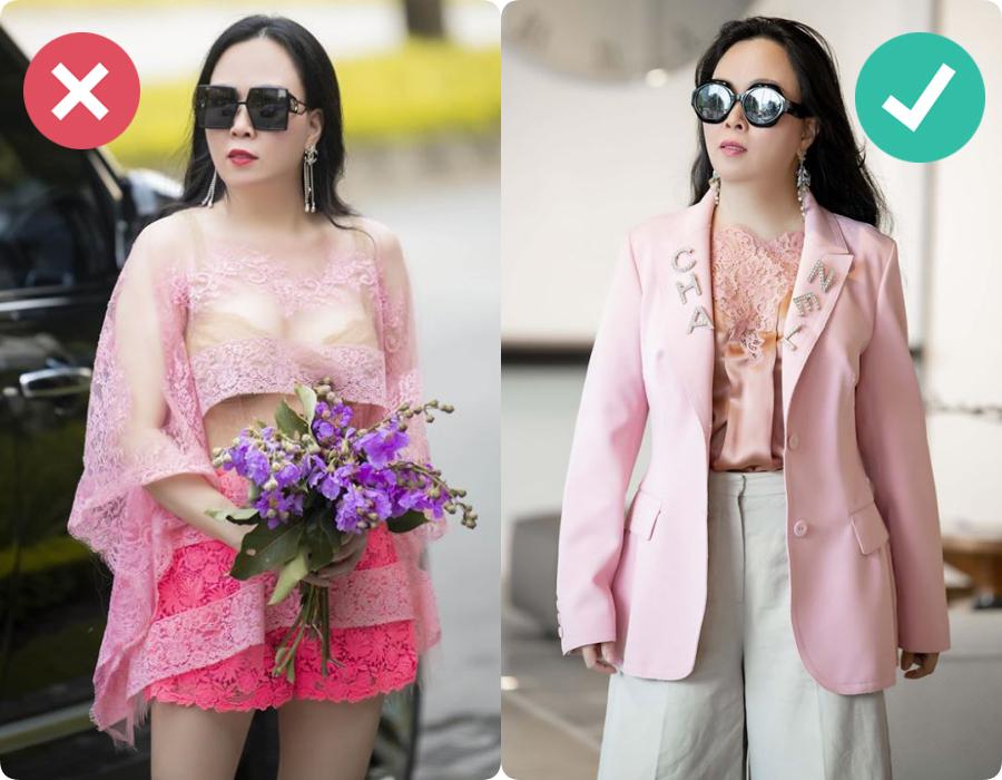 Style đồ ren xuyên thấu của Phượng Chanel: Đẹp - xấu phụ thuộc hết vào sự tiết chế - Ảnh 3.