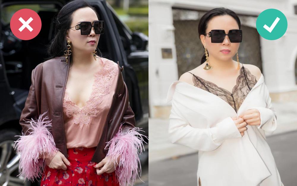 Style đồ ren xuyên thấu của Phượng Chanel: Đẹp - xấu phụ thuộc hết vào sự tiết chế - Ảnh 2.