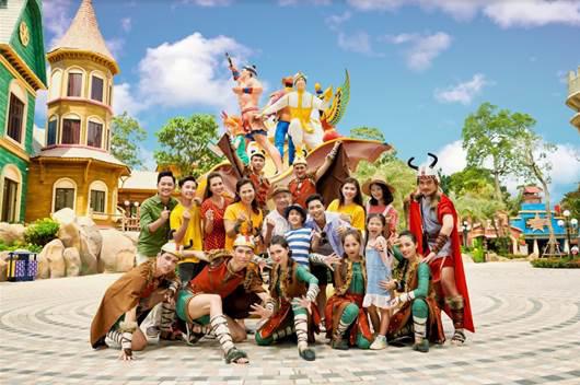 """""""Kỳ nghỉ Tết dài nhất lịch sử"""" đã là quá khứ, kỳ nghỉ hè đặc biệt nhất của con sẽ bắt đầu tại VinWonders Phú Quốc - Ảnh 3."""