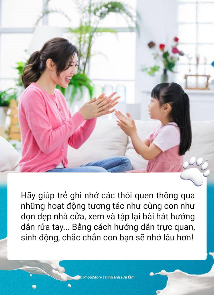 """Để hình thành thói quen tốt giai đoạn """"bình thường mới"""" cho con, bố mẹ phải thường xuyên lặp đi lặp lại những điều này! - Ảnh 2."""