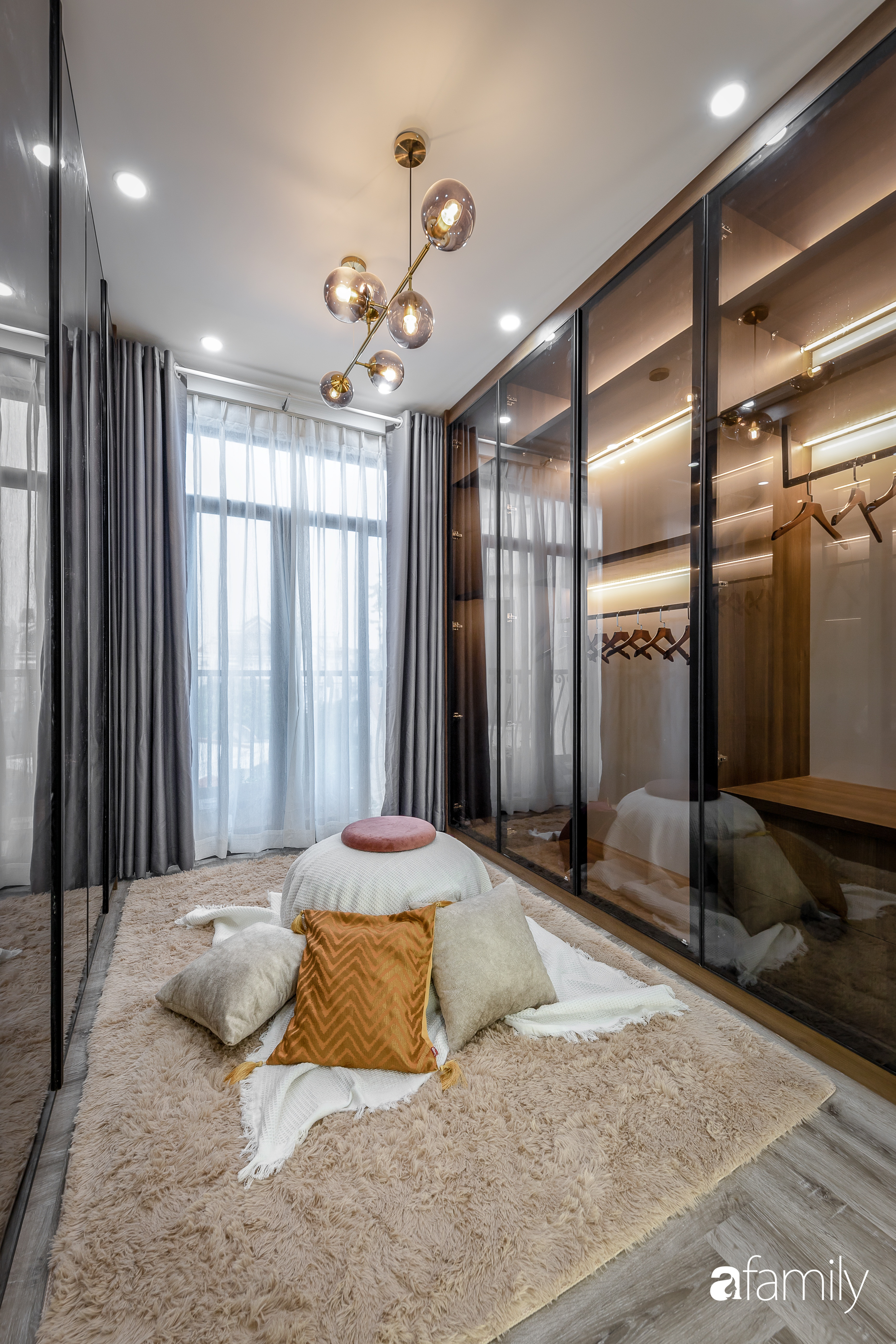 Căn nhà 5 tầng trong hẻm sang chảnh như resort cao cấp với chi phí thiết kế 900 triệu đồng ở TP HCMHCM - Ảnh 17.