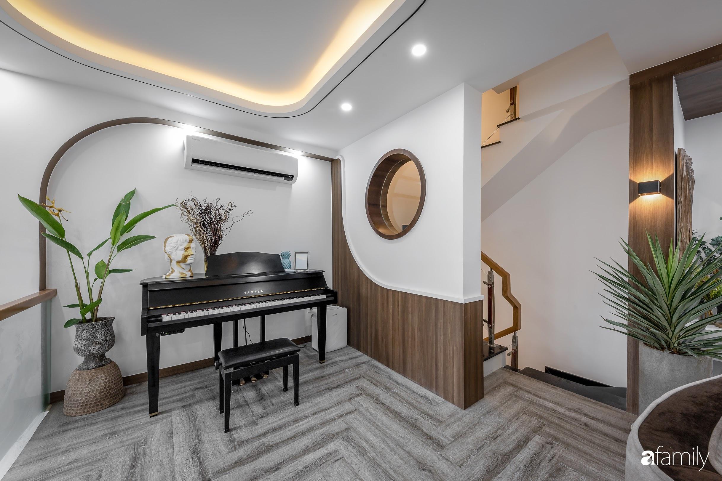Căn nhà 5 tầng trong hẻm sang chảnh như resort cao cấp với chi phí thiết kế 900 triệu đồng ở TP HCMHCM - Ảnh 7.