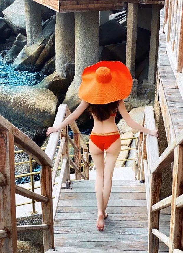 """Khoe ảnh body nuột mặc bikini nhưng Hồ Ngọc Hà lại bị chính mẹ ruột """"bóc mẽ"""" vóc dáng thật khi mang bầu - Ảnh 2."""