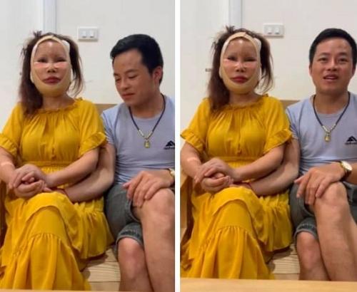 """Cô dâu 63 tuổi ở Cao Bằng tuyên bố """"chết cũng phải làm con ma đẹp"""", tiết lộ sẽ quyết tâm đi nâng ngực - Ảnh 1."""