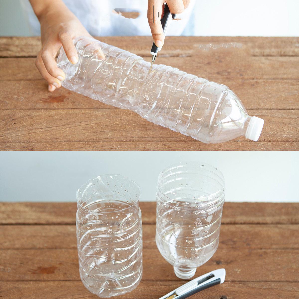 Cắt rau bỏ trong chai nhựa, cách làm đơn giản nhưng thu hoạch rau nhiều bất ngờ - Ảnh 3.