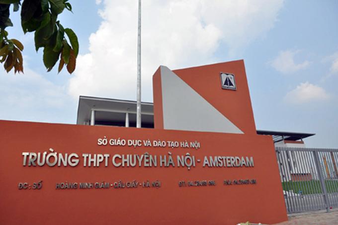 Bộ GD-ĐT khẳng định trường THCS Hà Nội-Amsterdam và Trần Đại Nghĩa không phải trường chuyên, cha mẹ tránh nhầm lẫn - Ảnh 2.