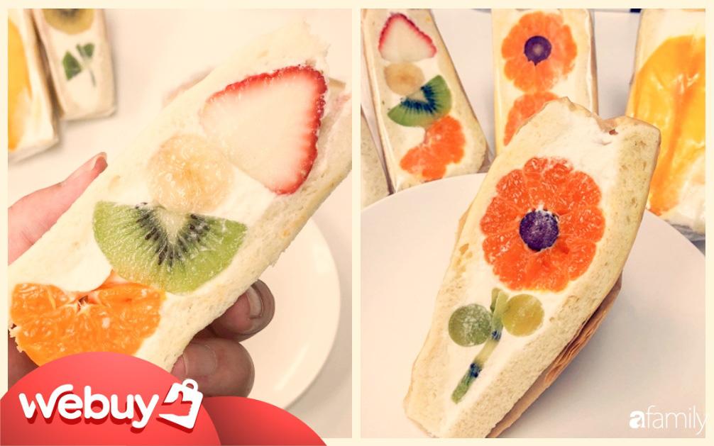 """Ngỡ ngàng trước những chiếc bánh sandwich """"hoa"""" đẹp như mơ, giá từ... 170k/chiếc"""